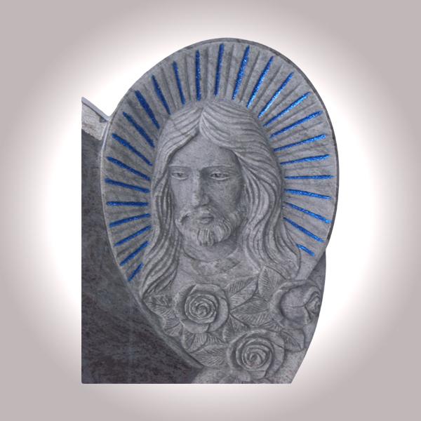 Lapide con immagine Gesù